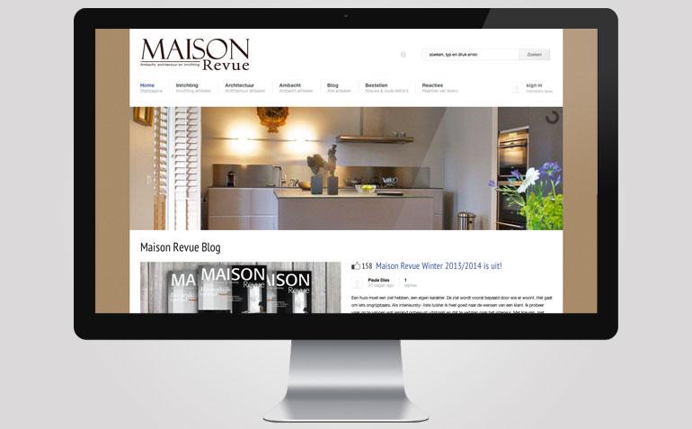 Website Maison Revue