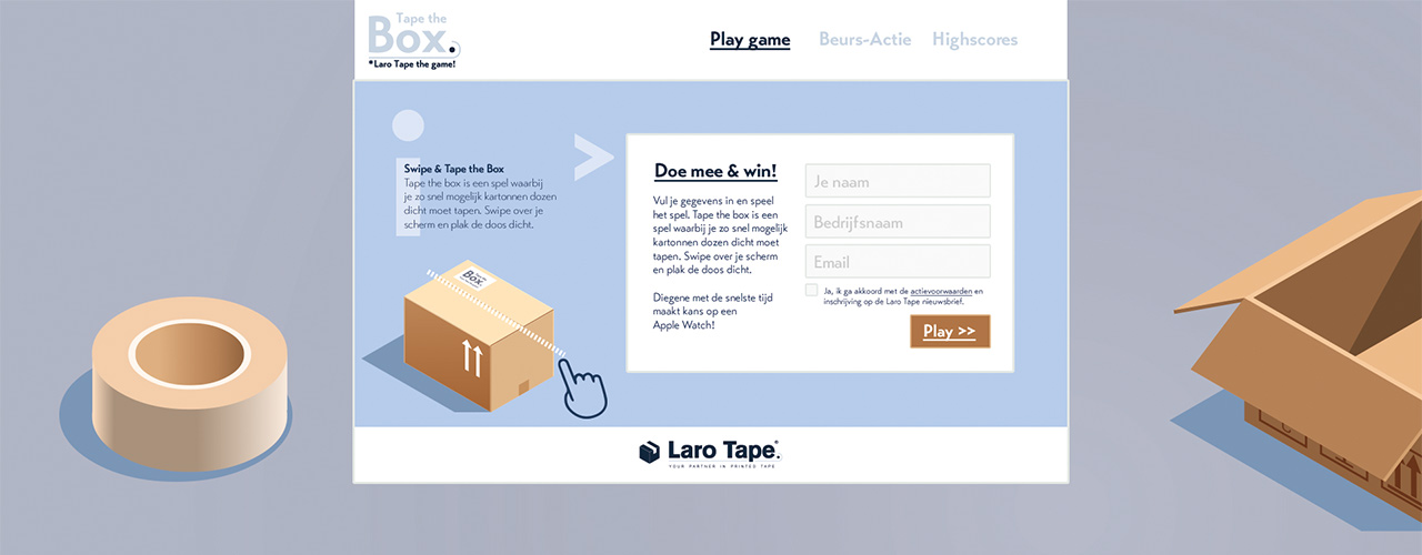 Beursgame Laro Tape