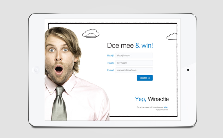 Winapplicatie voor iPad Mini